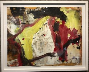 """""""Untitled I"""" abstract painting by Willem de Kooning"""